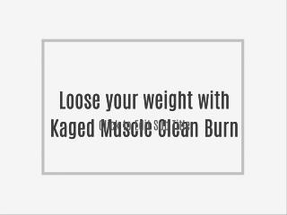 Loose your weight with Kaged Muscle Clean Burn
