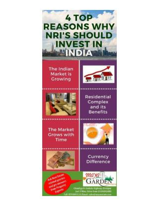 4 Top Reasons Why NRIs Should Invest In India