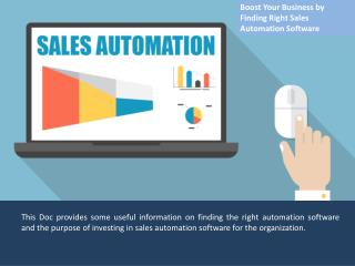 Sales Automation Software, Best Sales CRM Software