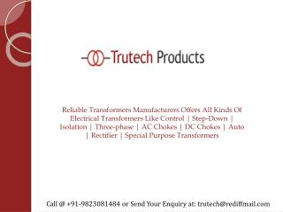 Transformers Manufacturers in Pune, Mumbai, Maharashtra, India