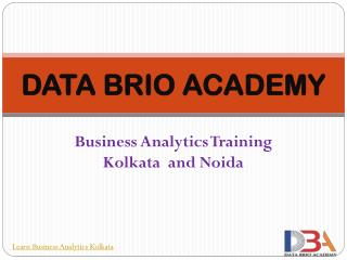 Business Analytics Training Kolkata And Noida
