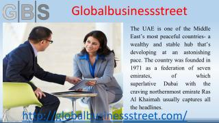 Global Business Street is the business set-up specialists in Dubai, Ajman, RAK (UAE).