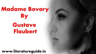 Summary of madame bovary by gustave flaubert