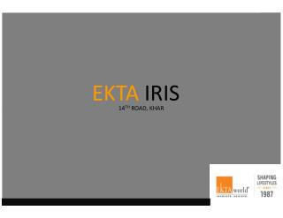 Residential Projects in Khar - Ekta Iris