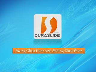 Glass Door Suppliers In Singapore