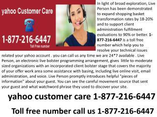 yahoo search help  1-877-216-6447