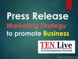 Free Strategy to promote Business