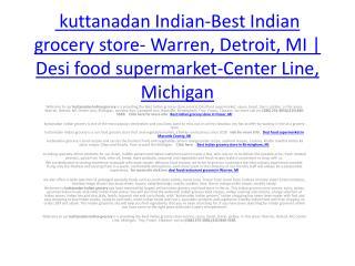 vegetarian grocery- Eastpointe, MI, Campbell Ave, Royal Oak, Troy, MI