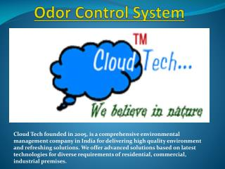 Odor Control System in India