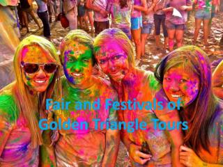 Festivals - Golden Triangle Tour