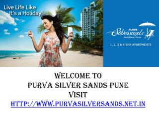 Puravankara New Project - Purva Silversands Pune AT Mundhwa Pune