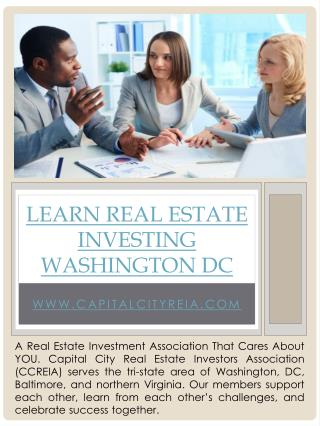 Real Estate Investing clubs Virginia