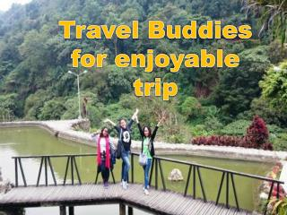 Travel Buddies for enjoyable trip