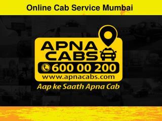 Online Cab Service Mumbai