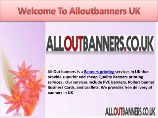 Roller Banners  | alloutbanners