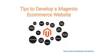 Magento Ecommerce Website Design Toronto