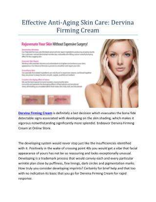 http://www.healthproducthub.com/dervina-firming-cream-reviews/