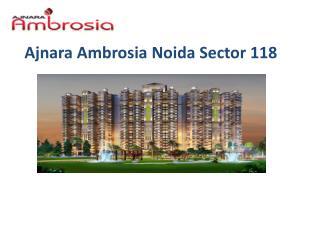Ajnara Ambrosia Noida Sector 118