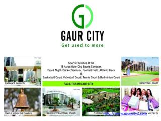 Gaur City Luxury Township