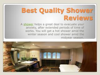 Make Your Shower Great in 2016 - Lofty Review | Product Reviews