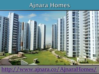 Ajnara Homes Offers Residential Flats