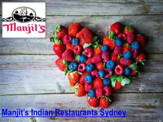 Indian Restaurants Sydney- Manjit's at the Wharf