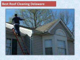 Best Roof Cleaning Delaware