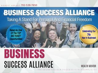 Rob Abrams Business Success Alliance