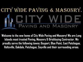 Long Island Masonry Company.
