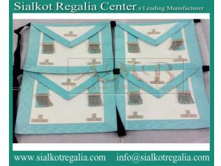 Masonic Craft MM Apron with elastic belt