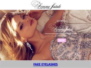 FAKE EYELASHES - Femme Fatale lashes