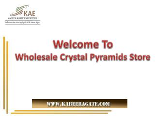 Healing Gemstones and Pyramids Collections