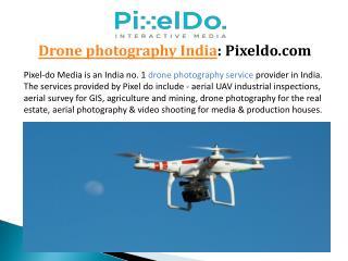 Drone photography Mumbai, India