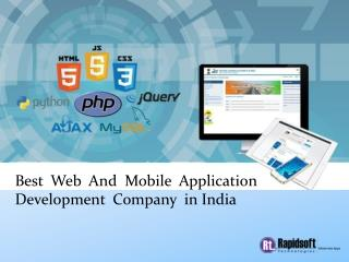 Mobile & Web Application Development