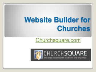 Website Builder for Churches - Churchsquare.com