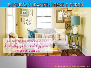 Business cleaning service Perth