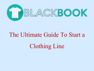 Find the best book to start clothing line