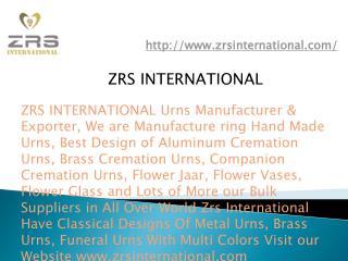 Urns Manufacturer & Exporter