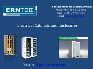 Get Electrical Cabinets, Connectors & Metal Enclosures – ERNTEC