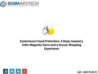 Ecommerce Fraud Protection: 3 Steps toward a Safer Magento Store and a Secure Shopping Experience