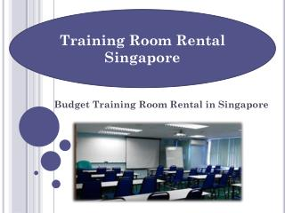Training Room Rental in Singapore – Book Now!
