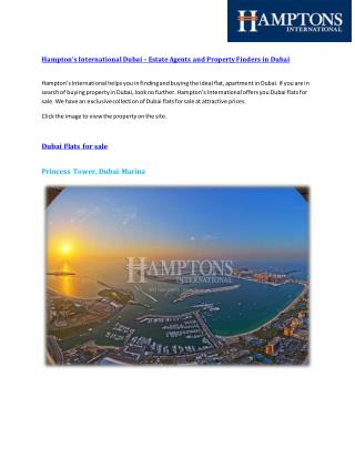 Dubai flats for sale,Buy Property in Dubai,Hampton's International