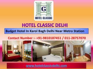 Budget Hotel in Delhi Karol Bagh