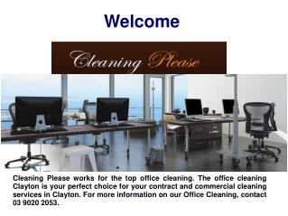 Office Cleaning in Berwick
