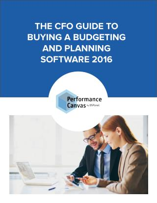 CFO Guide To Buying A Budgeting And Planning Software