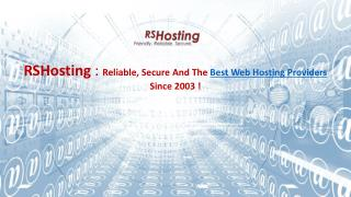 Best Web Hosting Providers