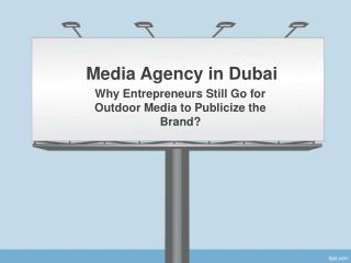 Creative Advertising Agencies in Dubai