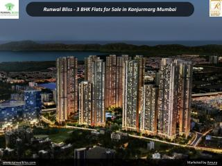 Runwal Bliss - 3 BHK Flats for Sale in Kanjurmarg Mumbai