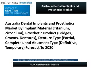Australia Dental Implants and Prosthetics Market