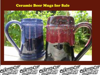 Ceramic Beer Mugs for Sale